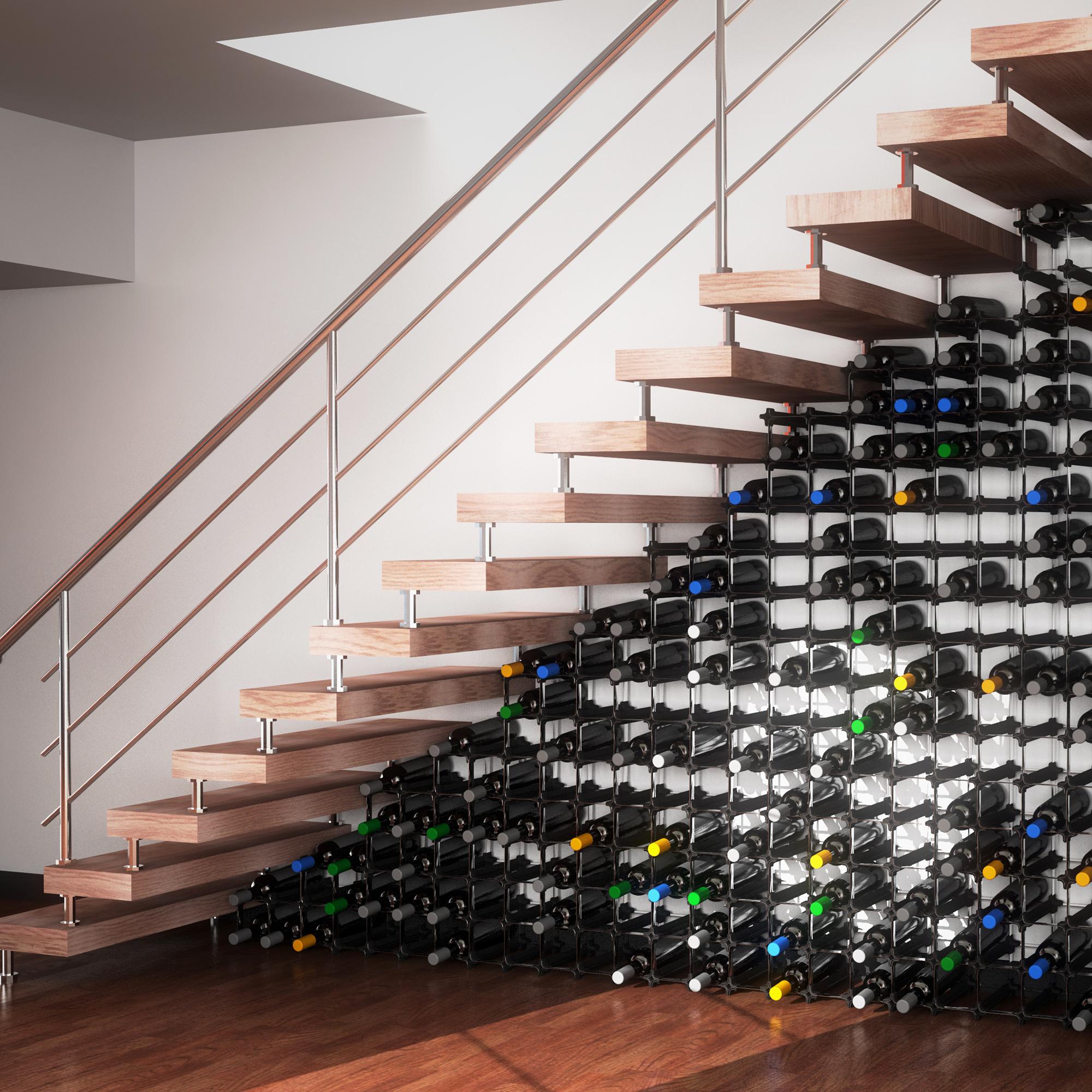 Nook Weinregal 25er Medium Kit Modulares Regalsystem Fur Weinflaschen Praktisches Flaschenregal Flexibel Erweiterbar Zur Optimalen Lagerung Von Flaschen Tradego24 Online Shop